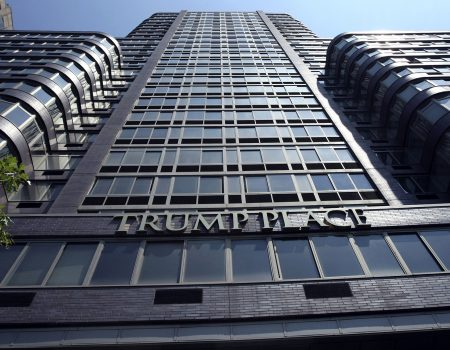 Trump Place condo tower fights for right to erase his name