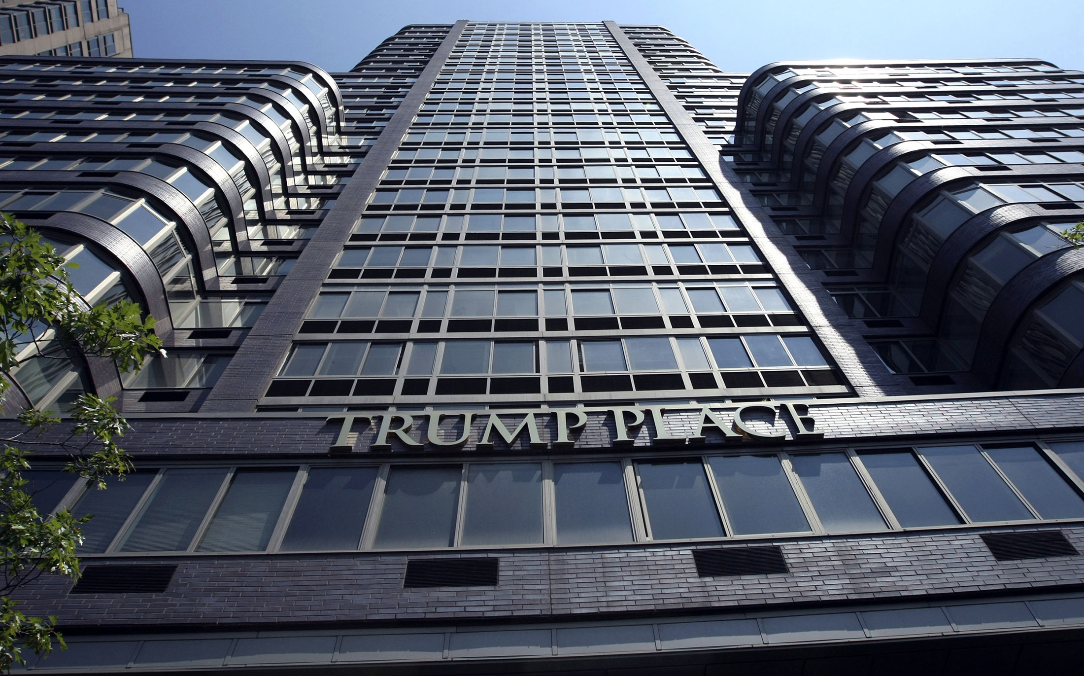 Photo of Trump Place condo tower fights for right to erase his name